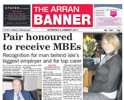 Arran Banner PDF Archive 2011