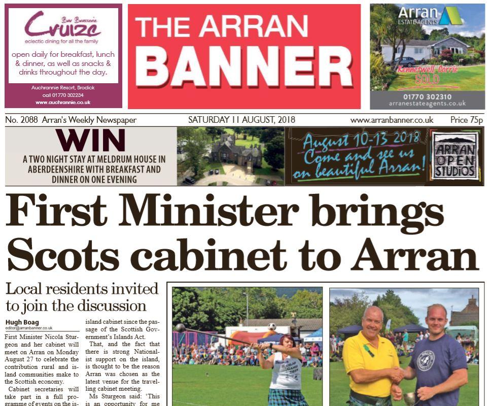 Arran Banner PDF Archive 2018