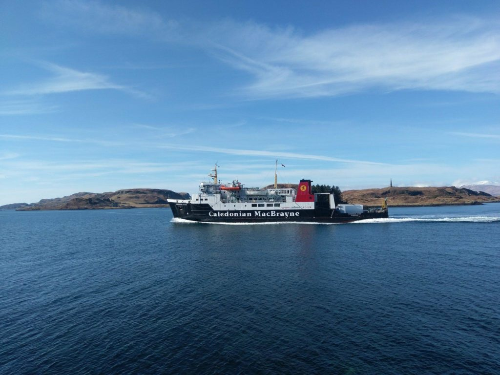 Replacement boat for Arran