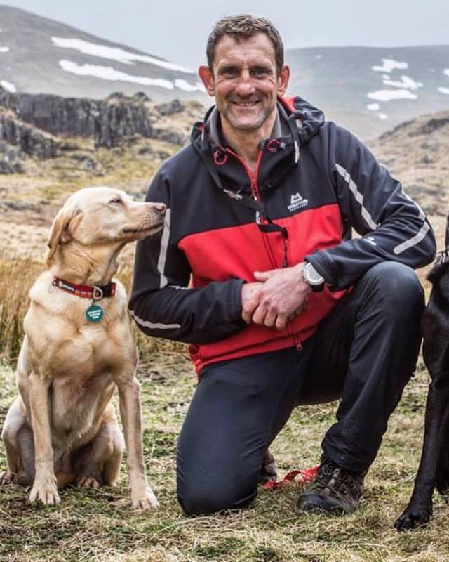 Well-earned retiral for rescue dog Ruby