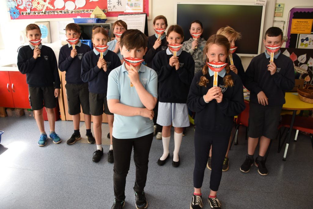 Arran pupils brush up on oral health awareness