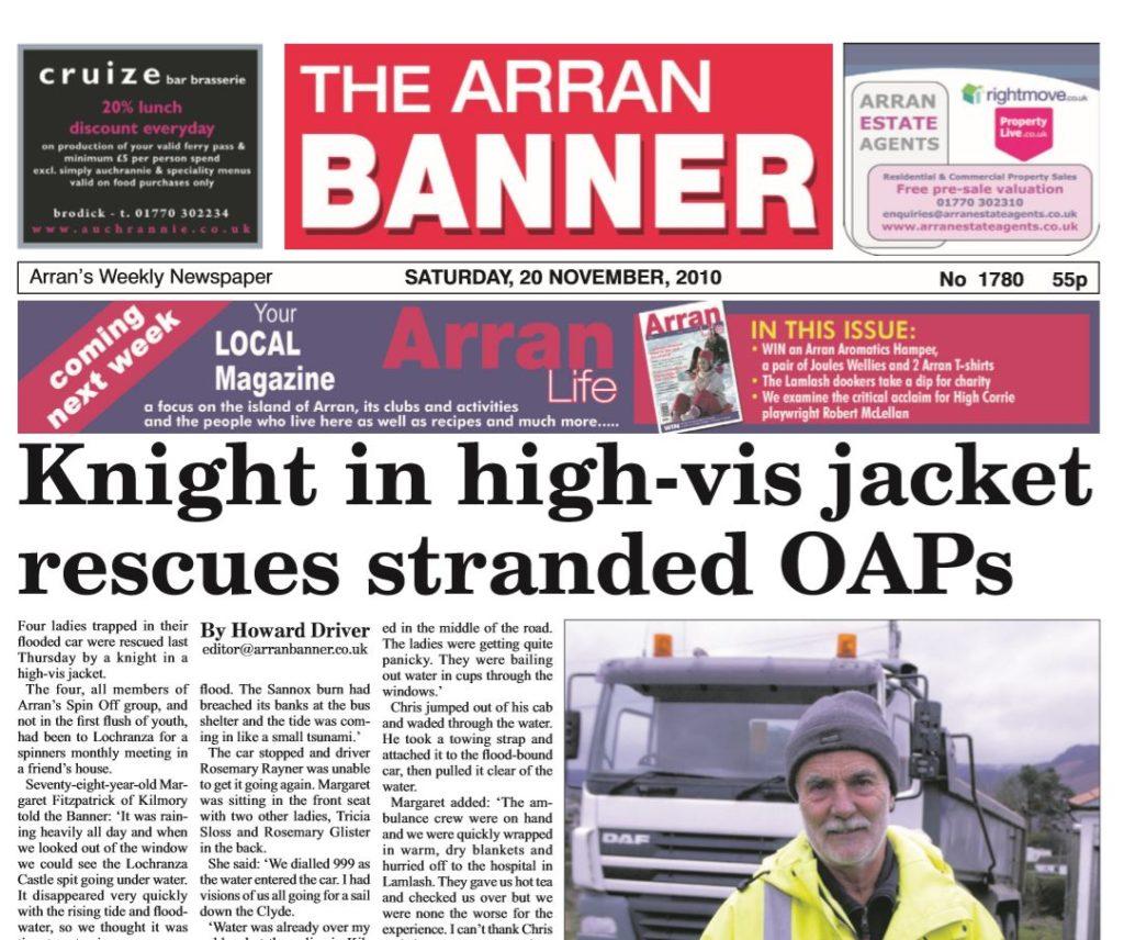 Arran Banner PDF Archive 2010
