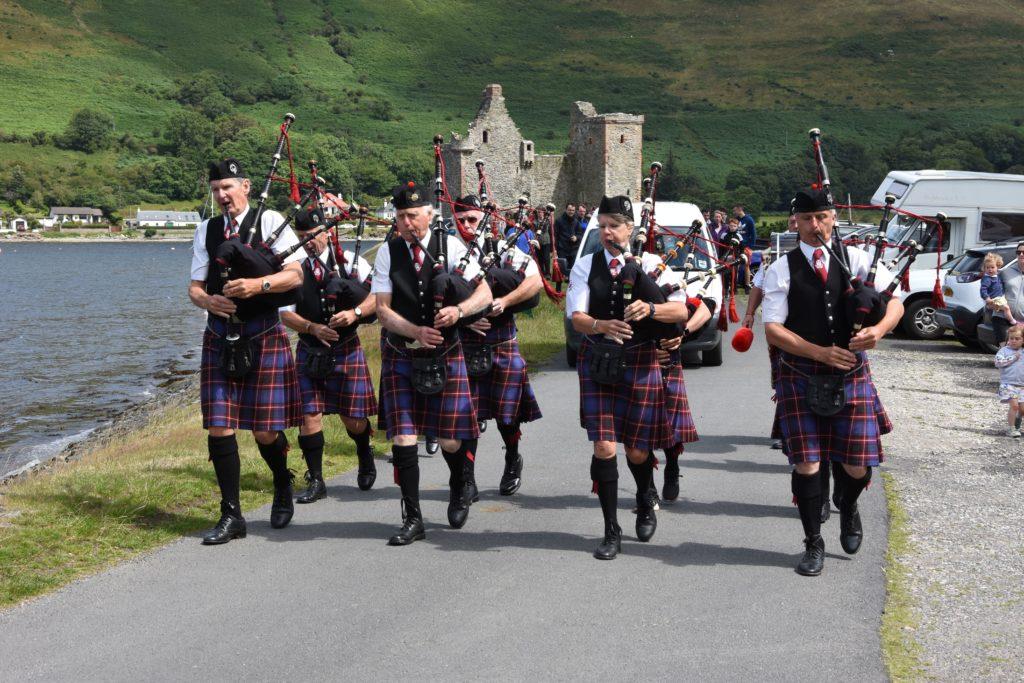 Great gathering at Lochranza gala