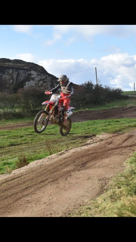 Arran riders flying high at motocross weekend