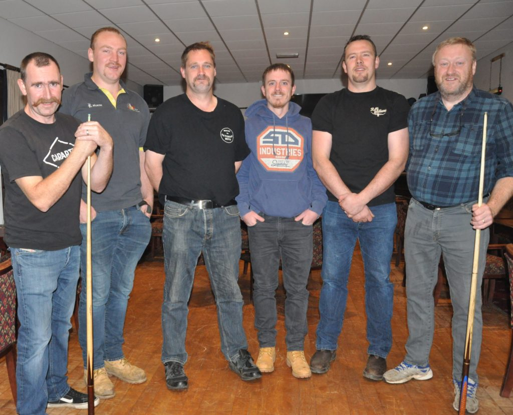 Pool team take on Movember challenge