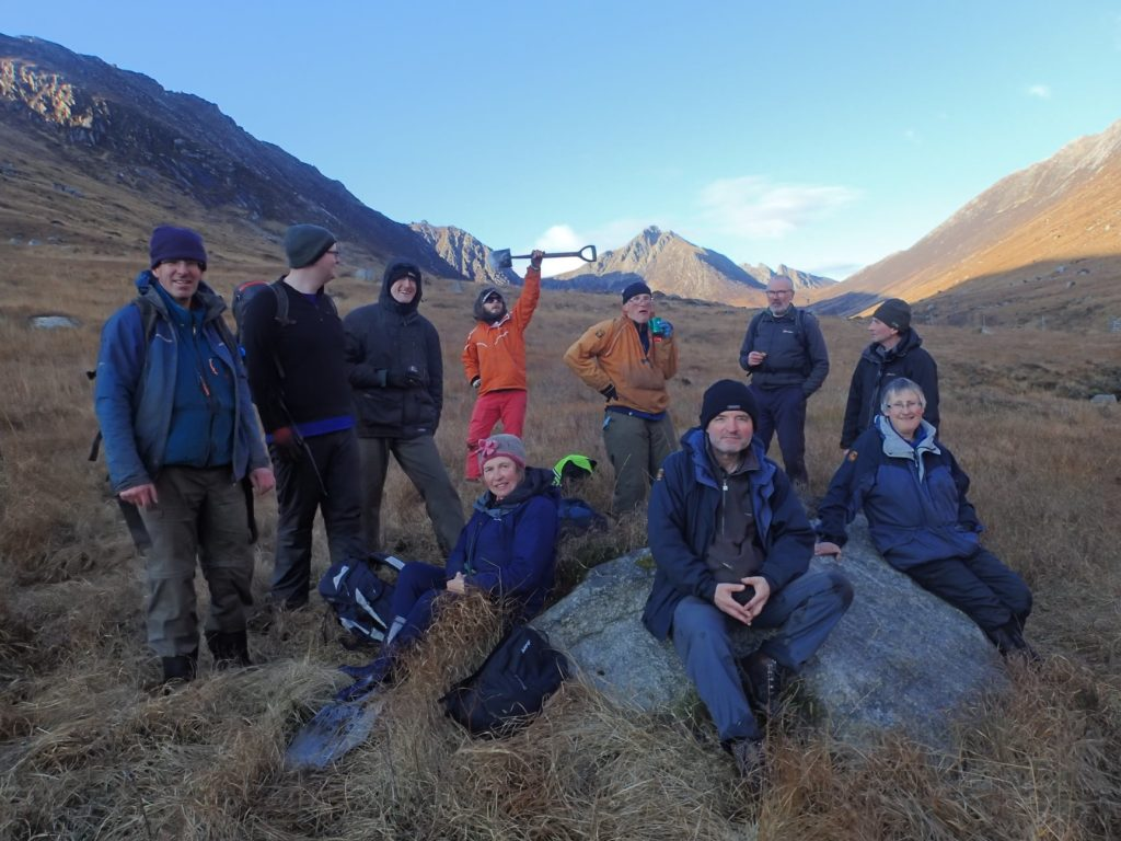 Help plant a forest in Glen Rosa