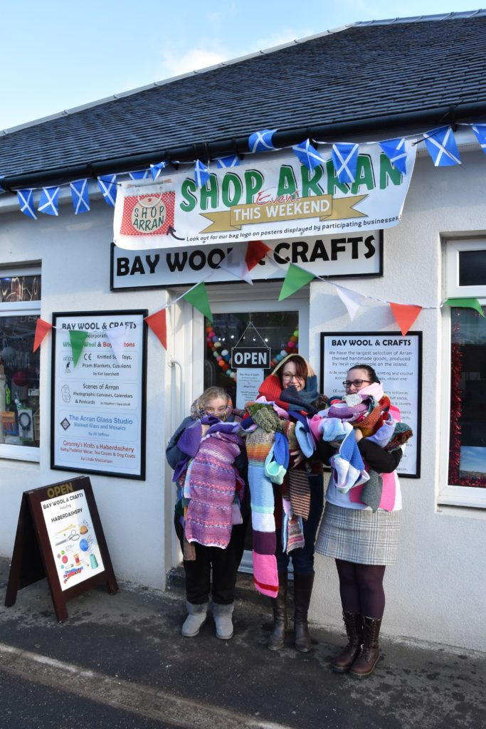 Scarf initiative has charity cash wrapped up