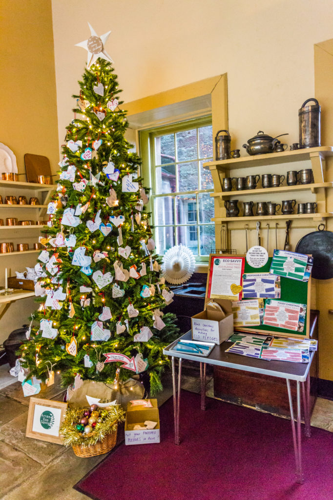 Castle celebrates Christmas with community trees