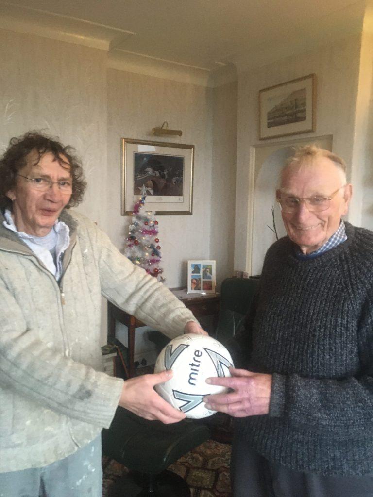 Henry wins Rangers football in club raffle