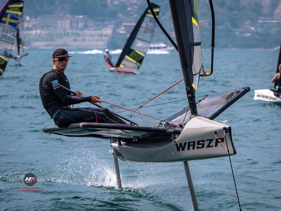 Rory makes waves in the sailing world