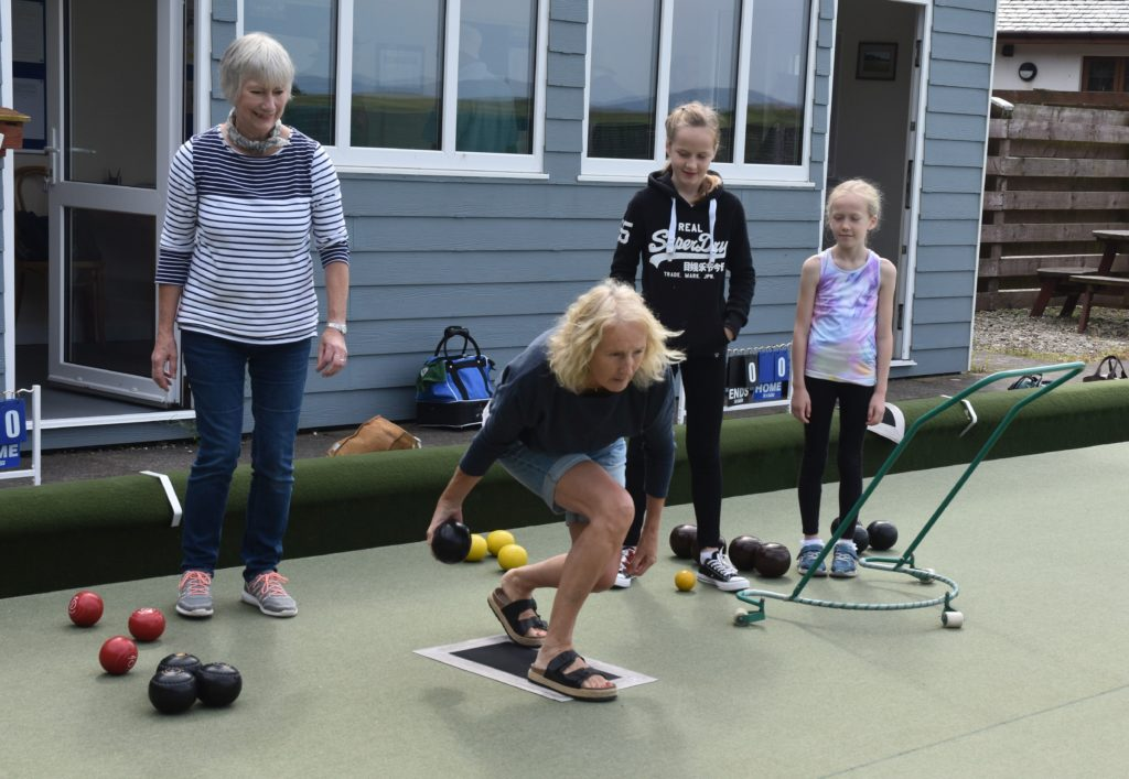 Blackwaterfoot Bowls Club turns 40 this year