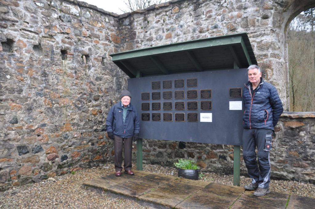 New memorial garden is created at Clachan