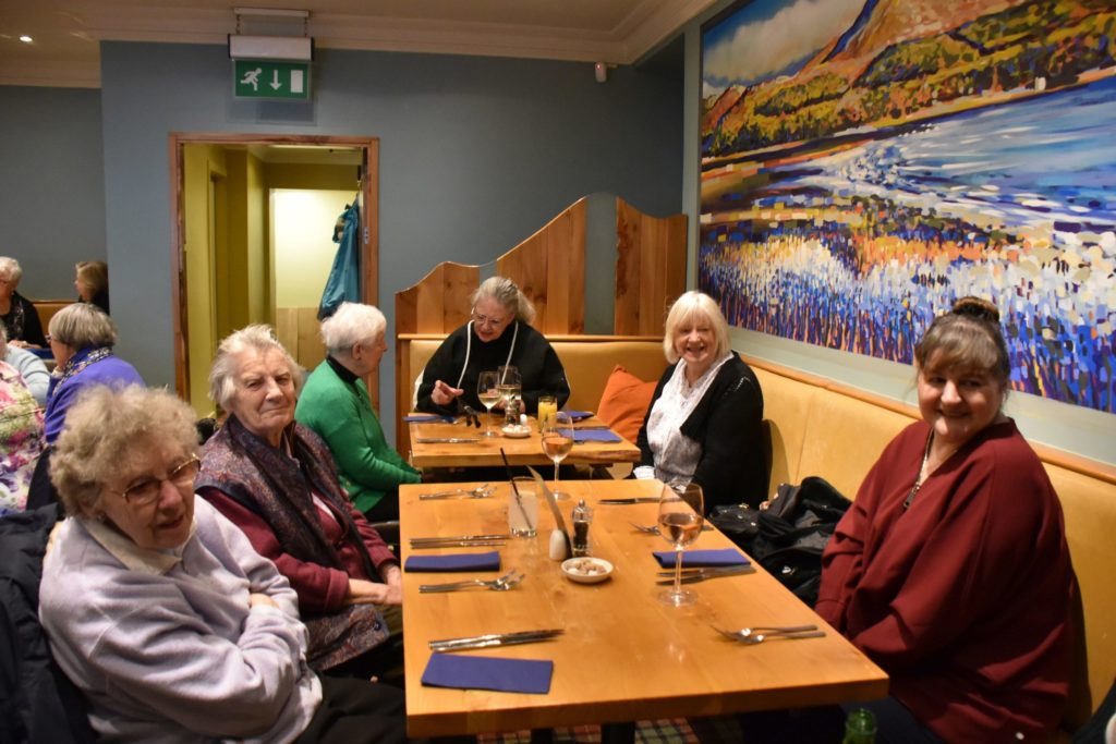 Fun for all at elderly forum winter lunch