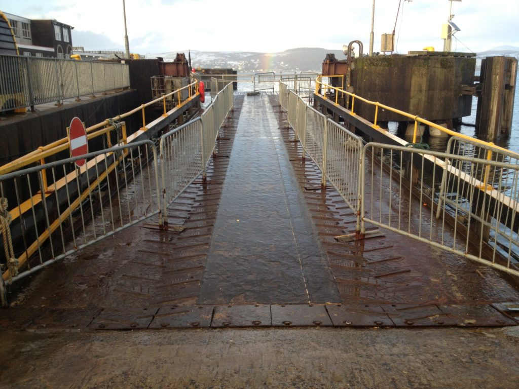 Gourock linkspan repair finally gets go ahead