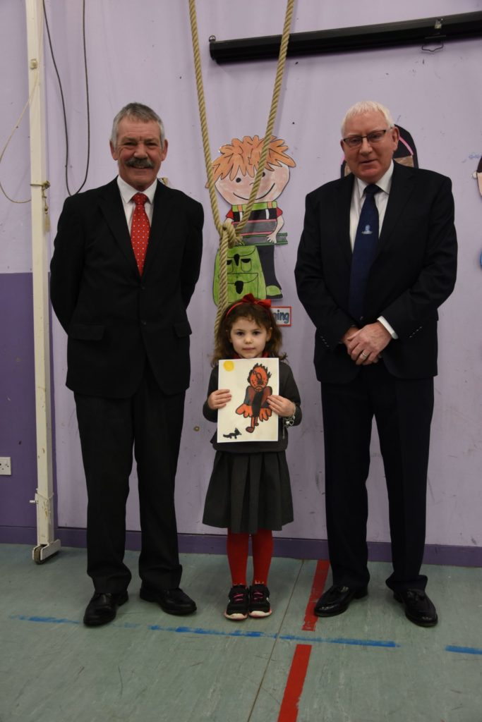 Bairns show their love for Burns in painting contest