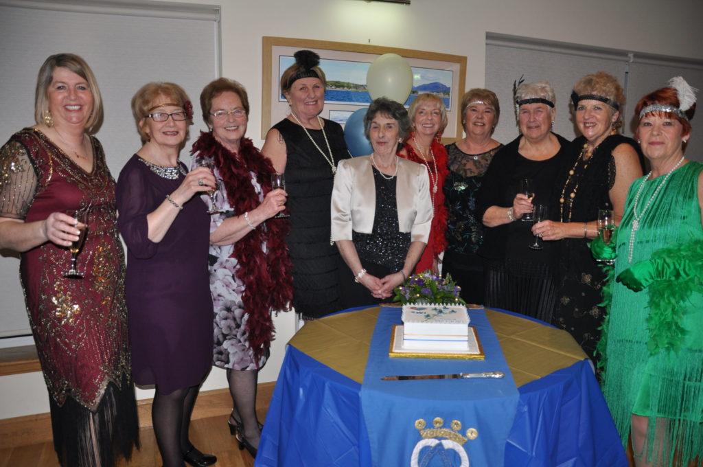 Shiskine celebrate centenary in style