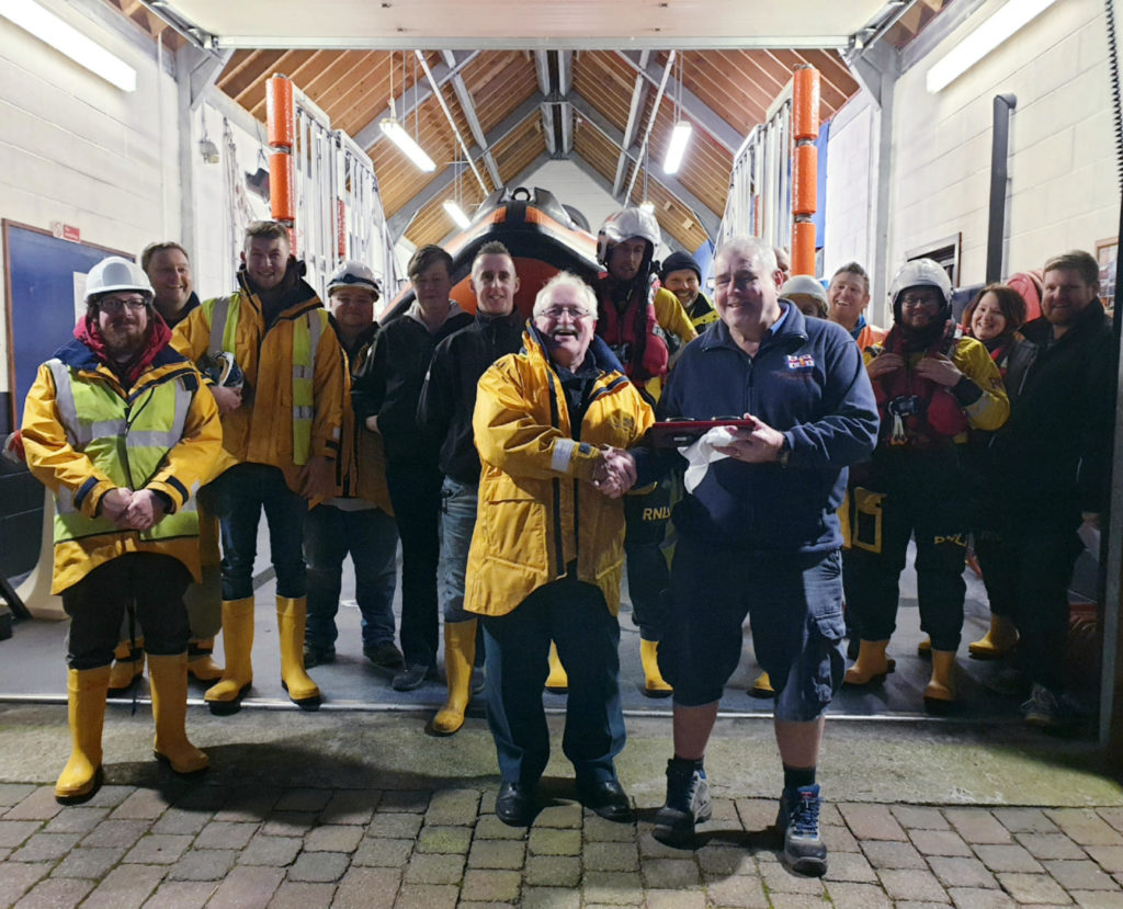 Allan has seen it all in 35 years with the RNLI
