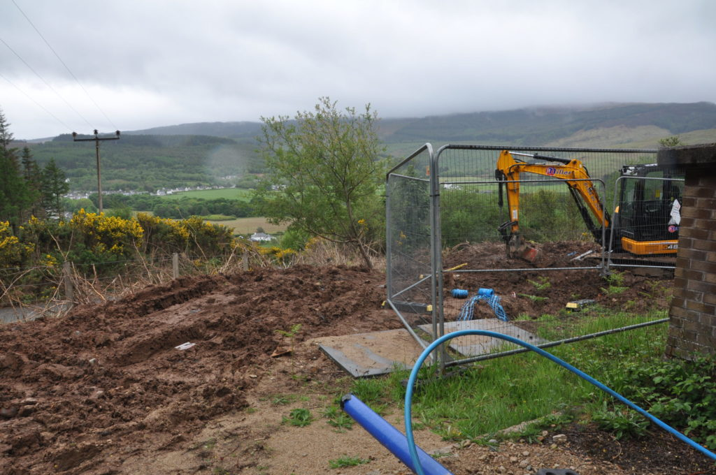 Lamlash water works to resume