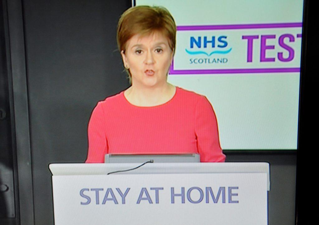 Lockdown to comeback if virus spikes again – Sturgeon