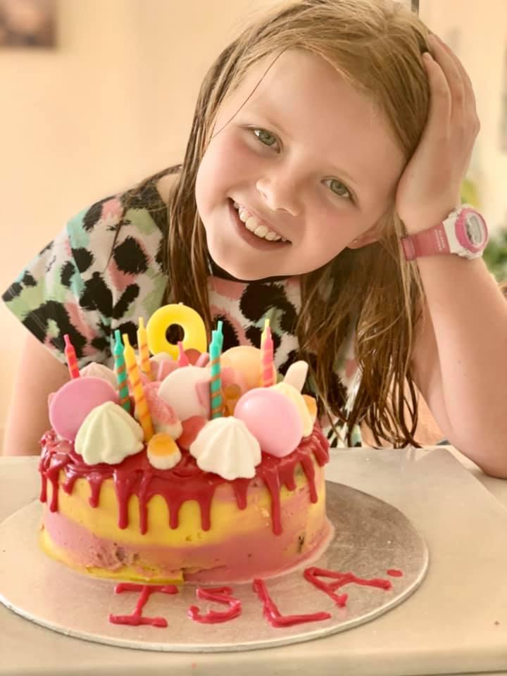 Lockdown birthdays on Arran