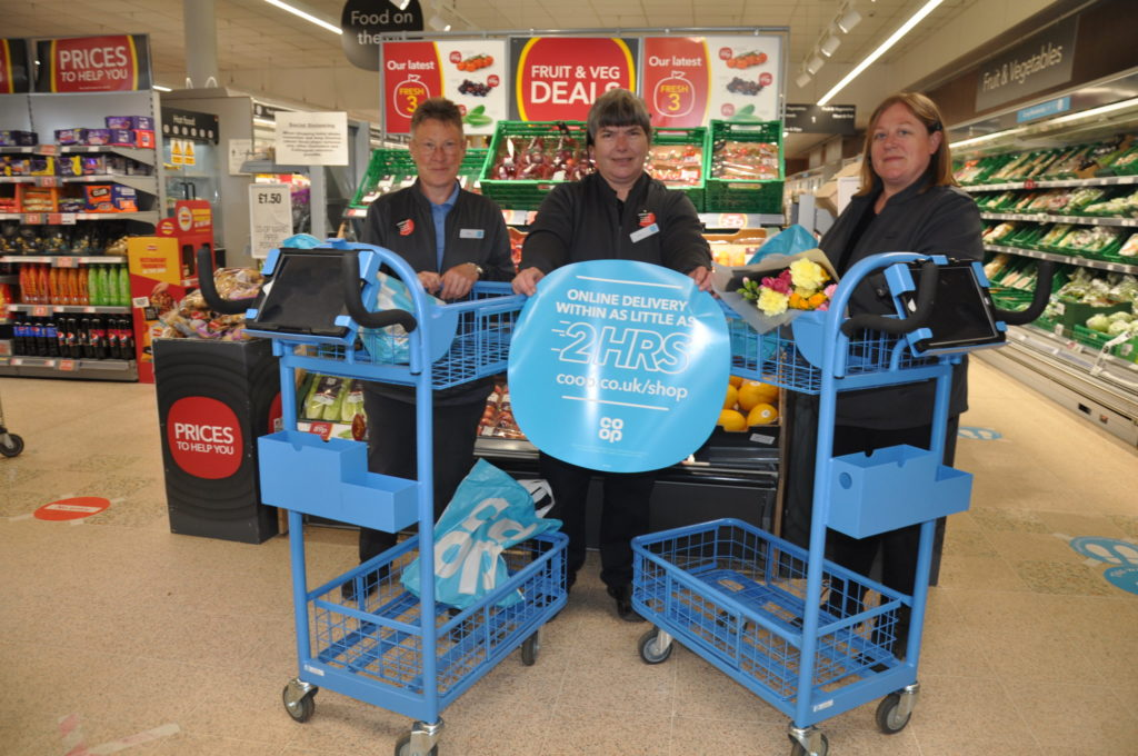 Co-op delivers online shopping first