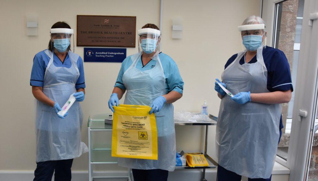 Arran opens own COVID testing centre in Brodick