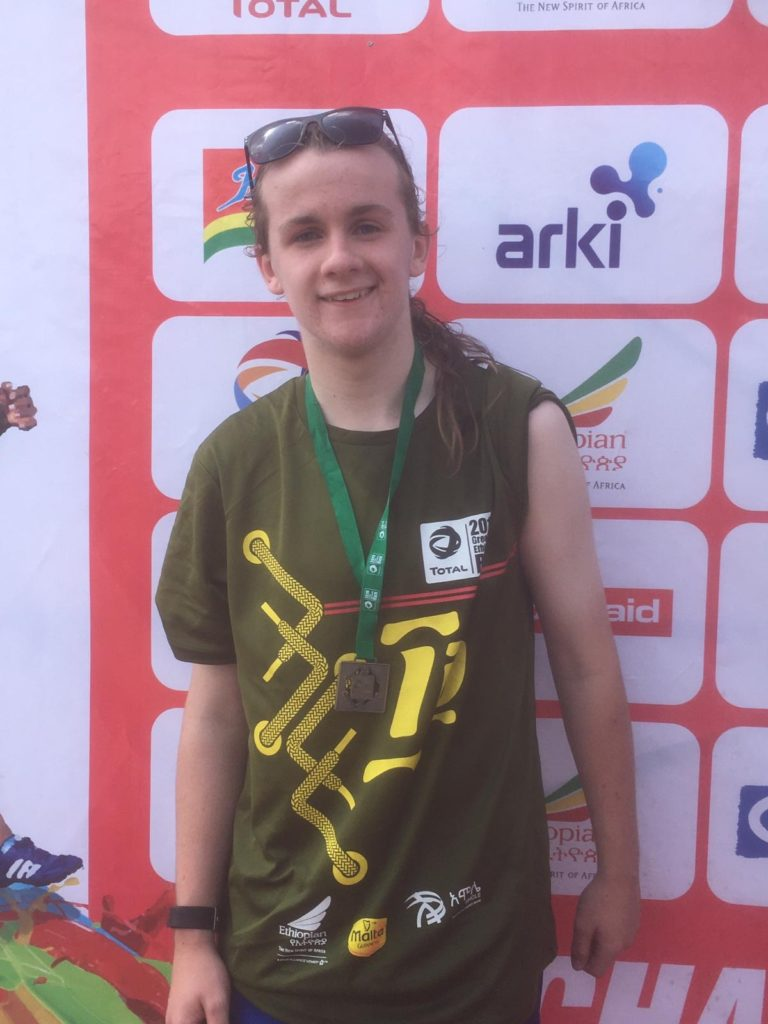 Andrew aims to run round Arran in a day