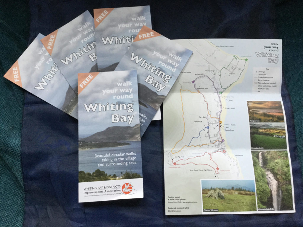 Helping you walk round Whiting Bay