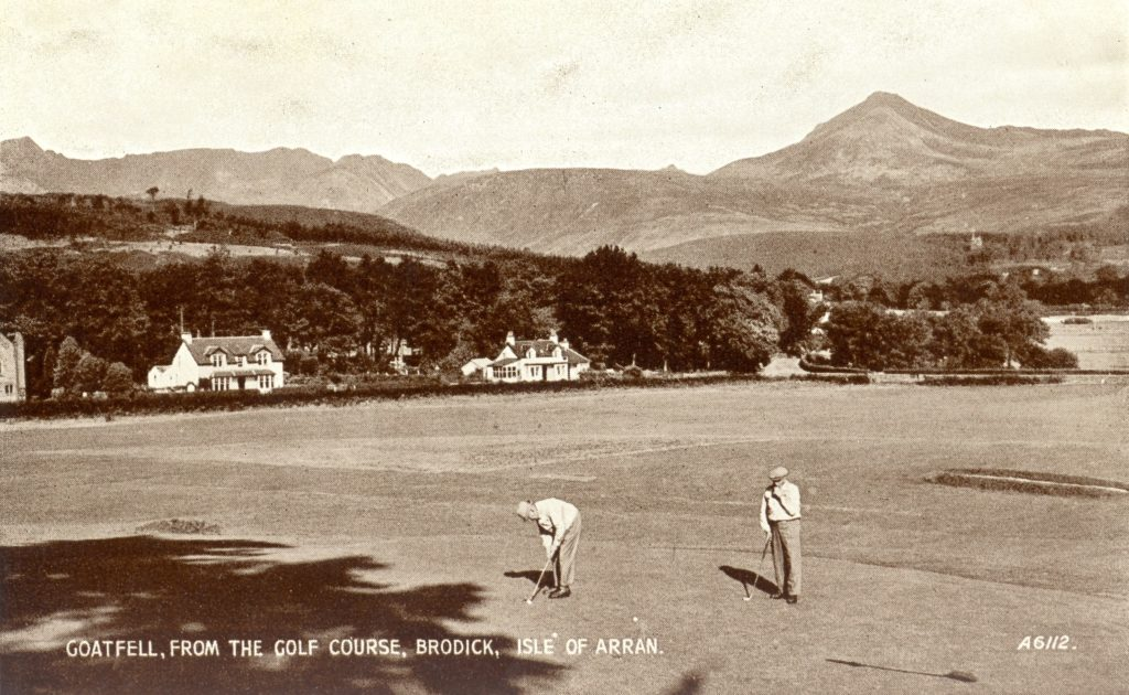 Arran Banner Golf – week 28, 2020