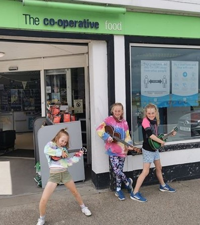 Fundraising fun at Co-op stores