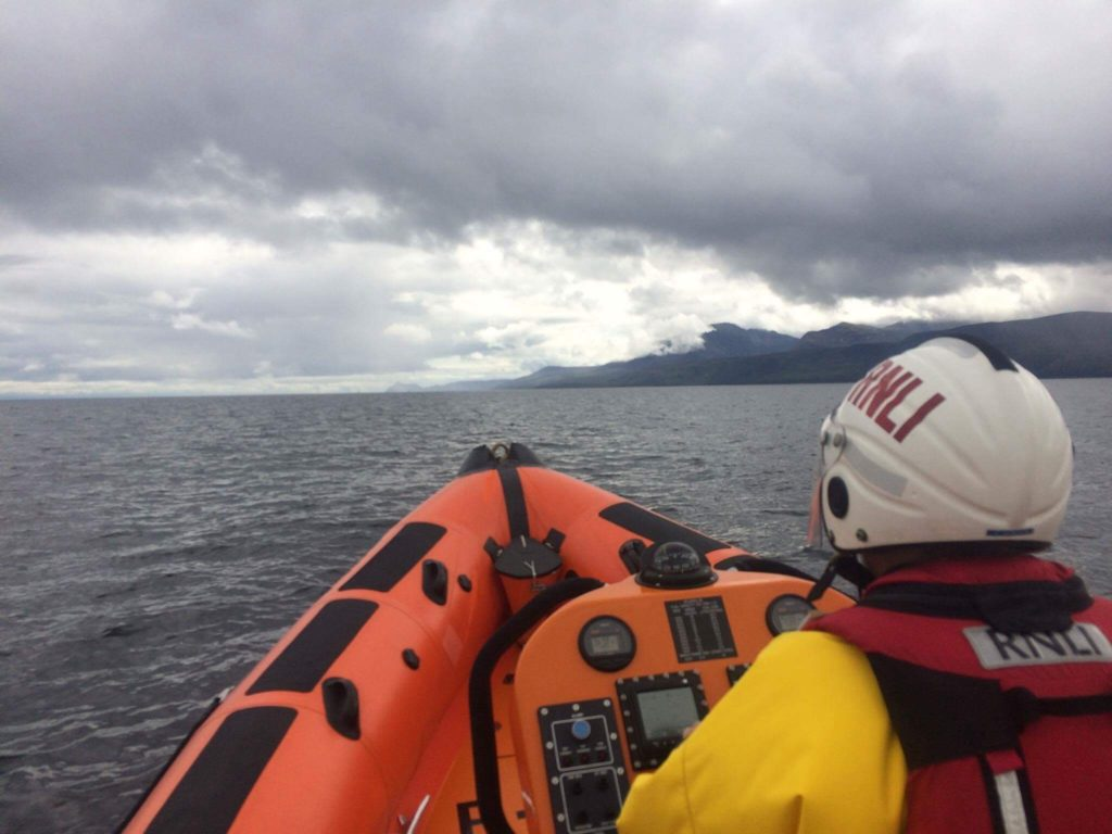 Hikers rescued by lifeboat