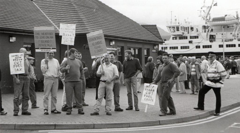 Arran Banner 20 years ago – week 37