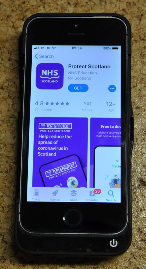 Residents urged to download Protect Scotland app