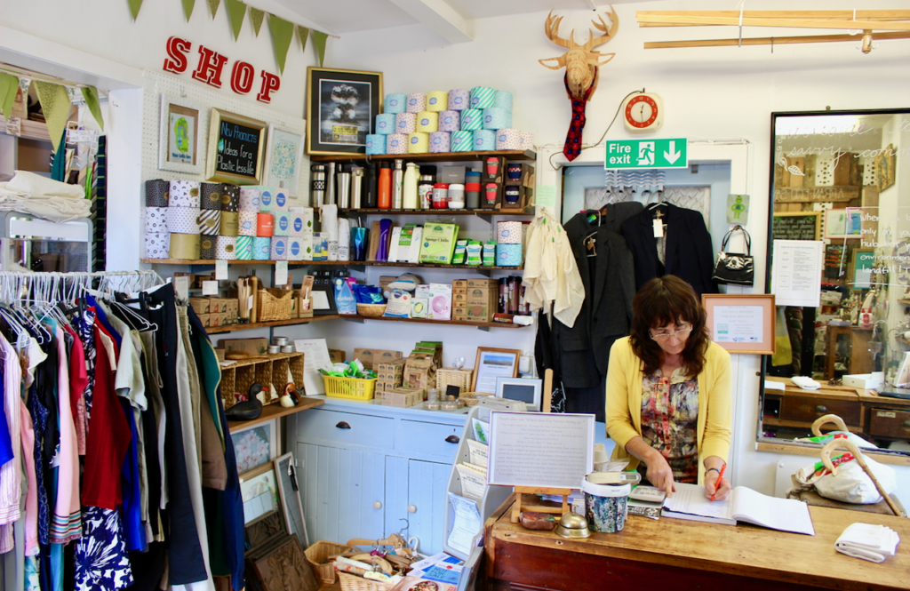 Eco Savvy shop is ready to reopen
