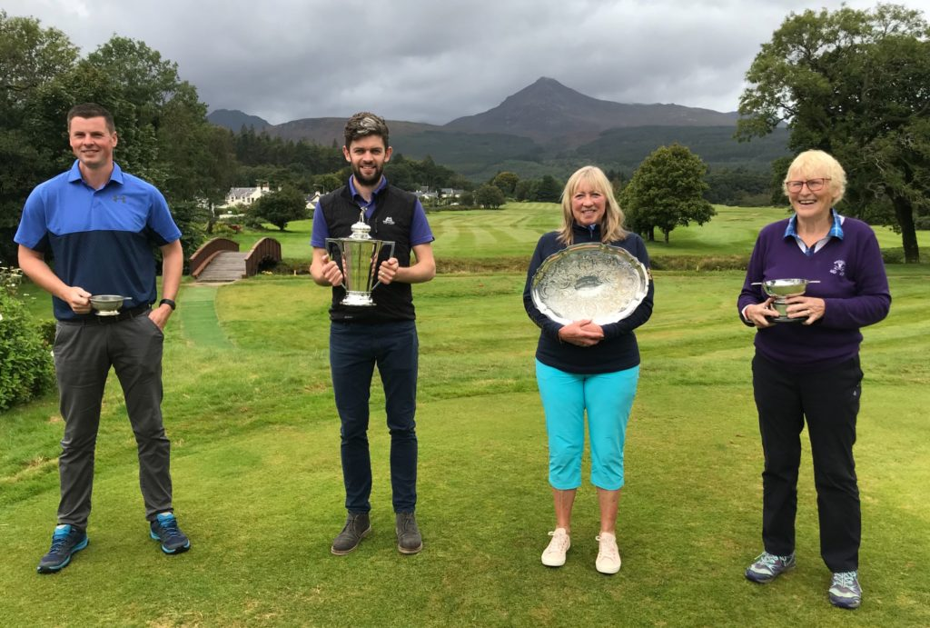 Ann and Ross are Brodick champions