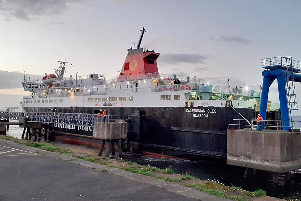 Ferry goes to Troon after drivers mutiny