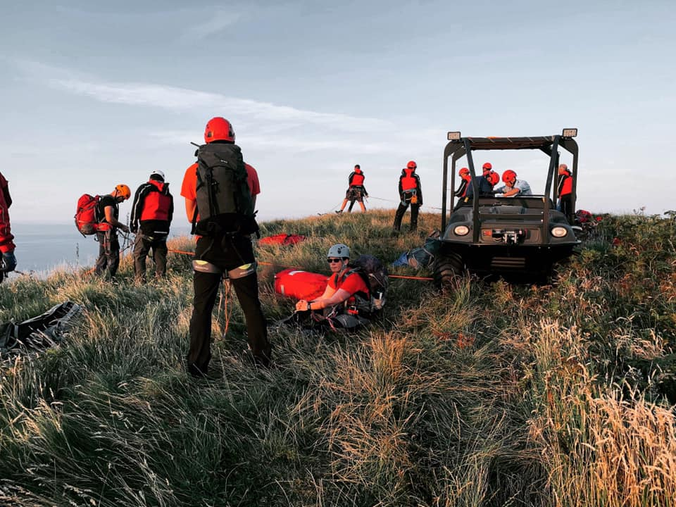 Busy spell continues for Arran's mountain rescue team