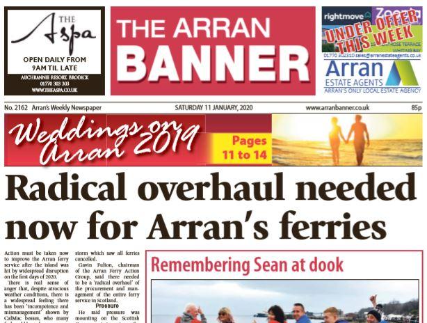 Arran Banner PDF Archive 2020