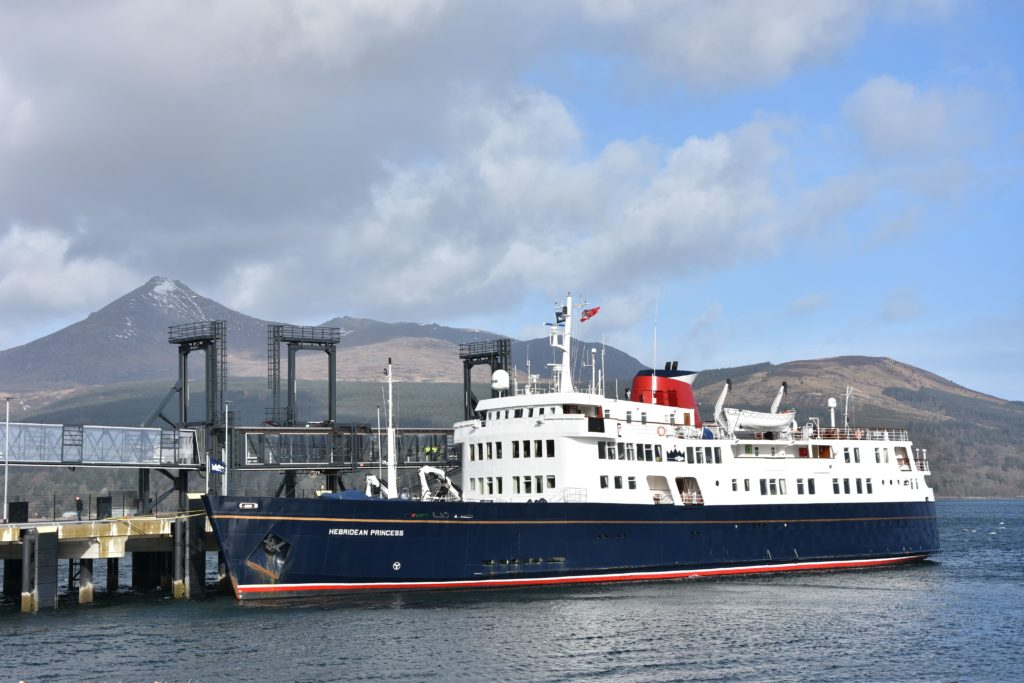 Hebridean Princess given good to go status by VisitScotland