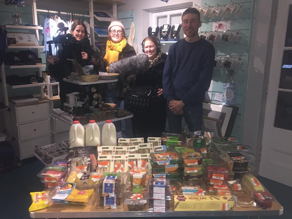 Major milestone is reached by Arran foodshare project