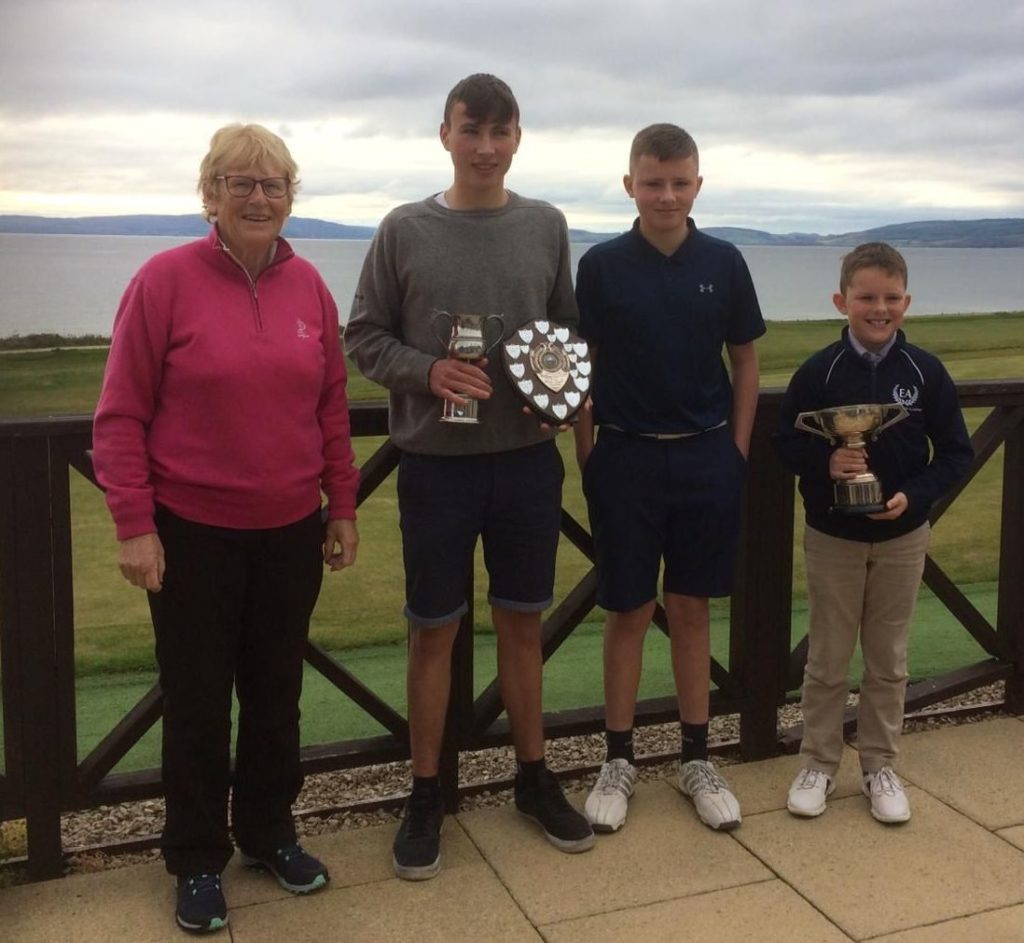 Rory and Jack are victors in junior championship