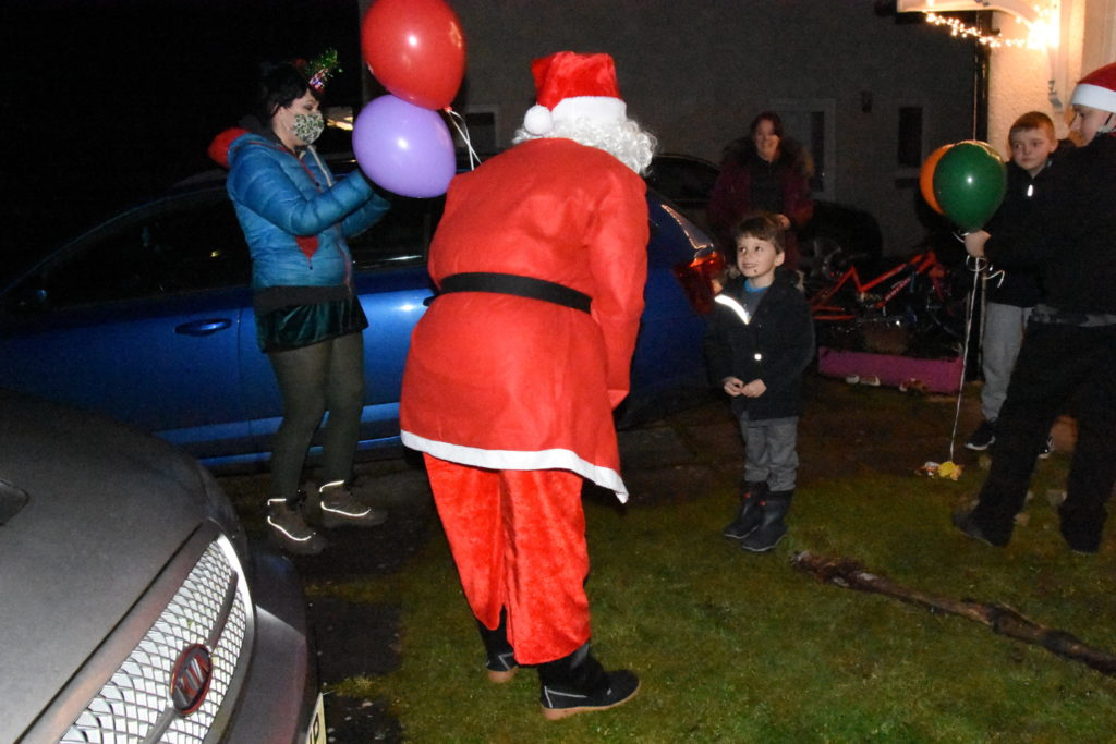 Santa pays an early visit to Corrie