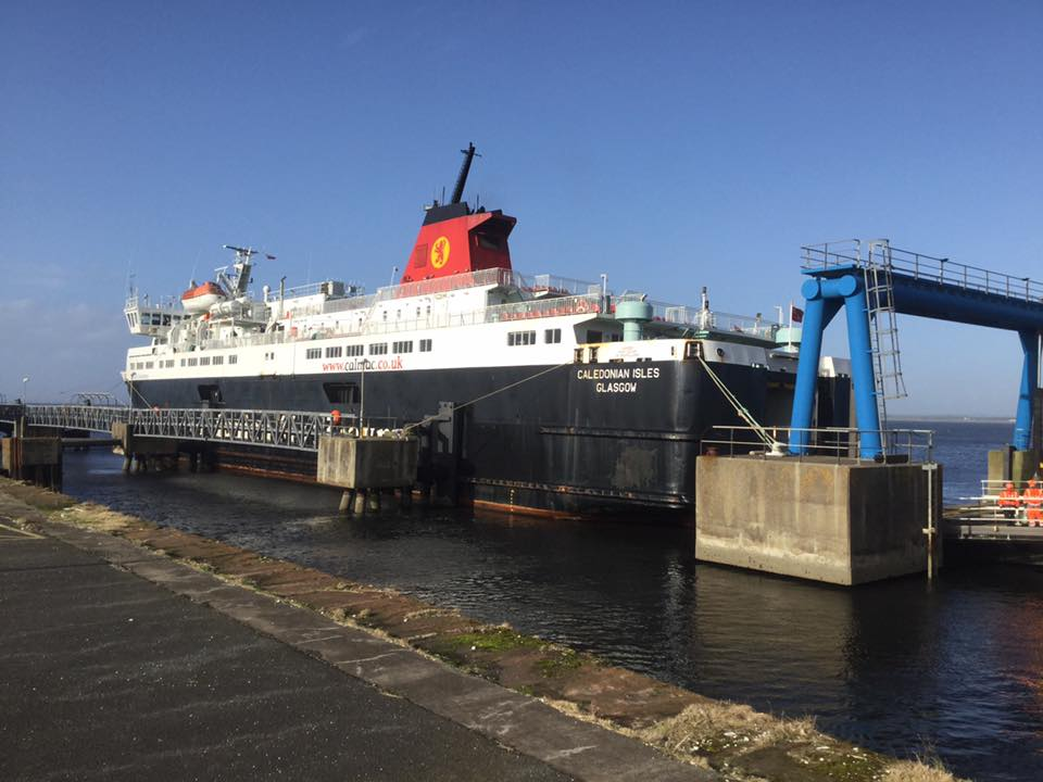 Ferry service likely to move to Troon during Ardrossan pier works