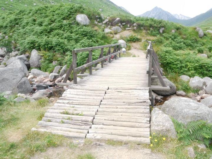 Glen Rosa bridge closed