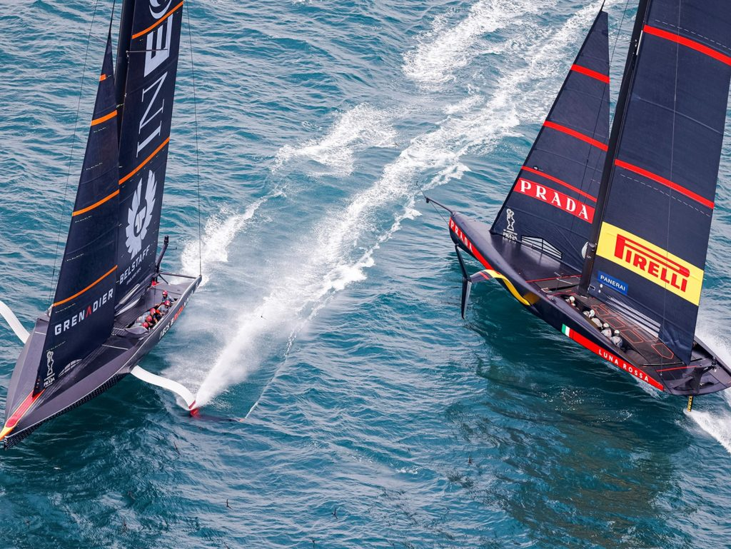 All eyes on Auckland as Arran sailor competes in Prada Cup
