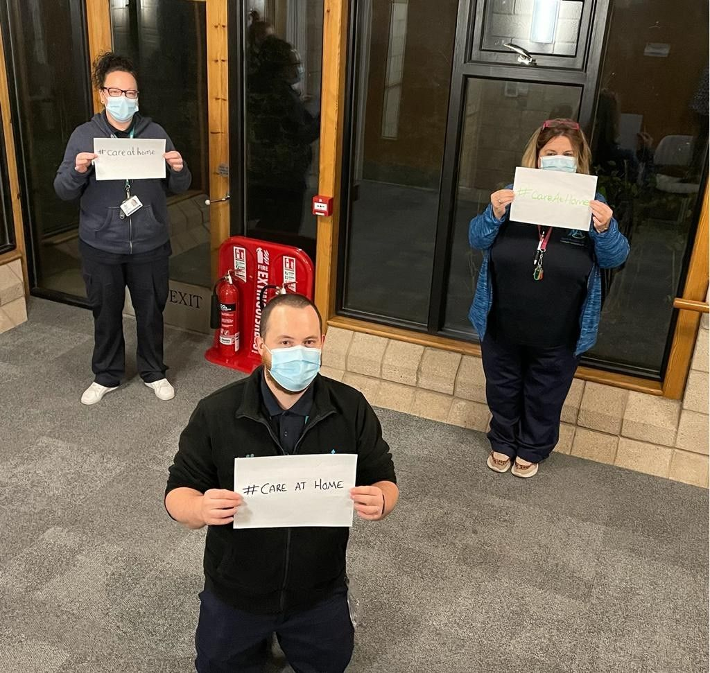 Care team goes the extra mile during Covid-19 pandemic
