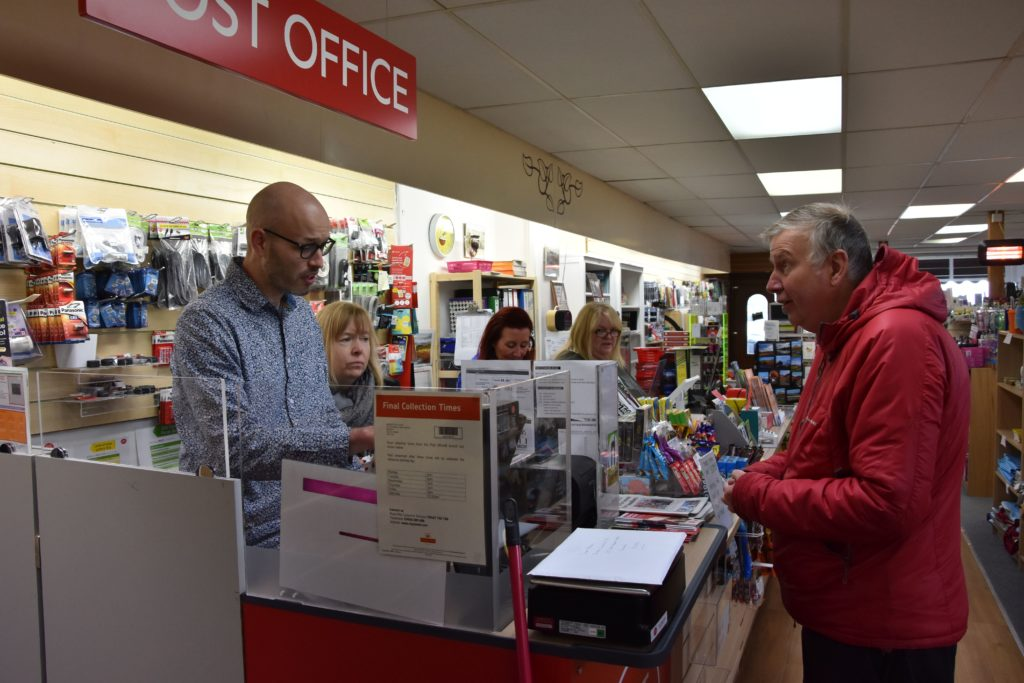 Post Office changes granted planning