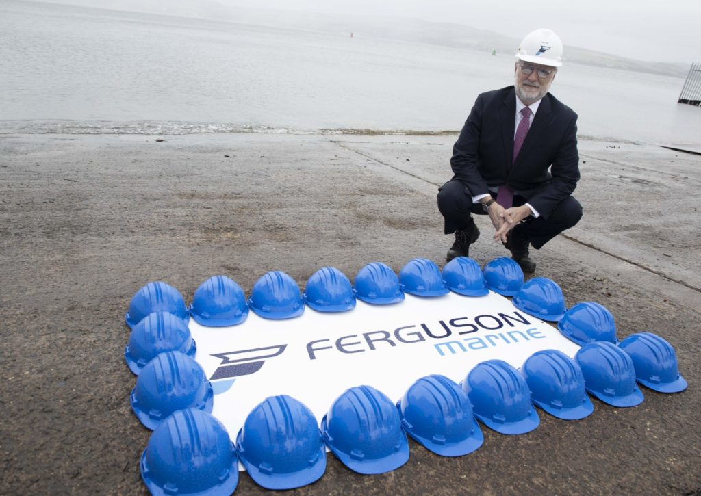 Seven days a week working to get Arran ferry finished