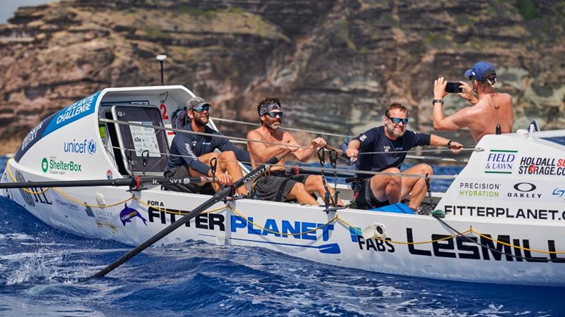 Arran waters helps Keith in 3,000-mile Atlantic challenge