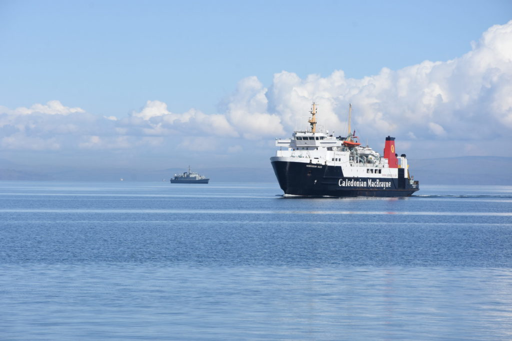MV Caledonian Isles is back in service